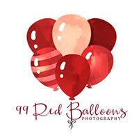 99 Red Balloons Photography