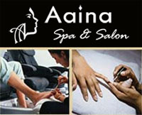aaina salon spa 50 off manicure pedicure and 30 off