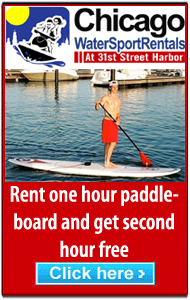 Chicago Water Sport Rentals paddleboard