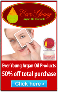 Ever Young Argan Oil Products side