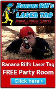 banana bills laser tag