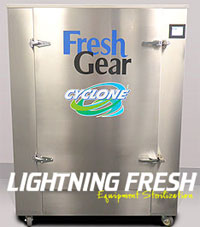 Lightning Fresh Sports Equipment Cleaning