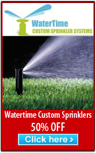 WaterTime Custom Sprinklers